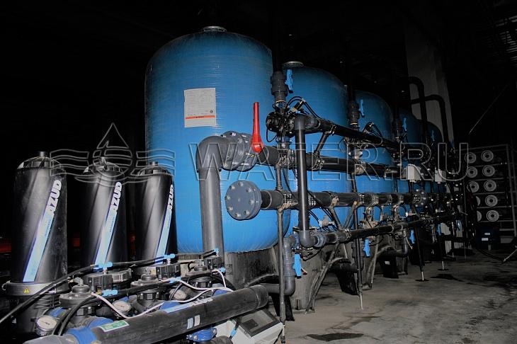 автоматическая система дисковой фильтрации azud hf 206/6 fx